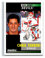 1991-92 Pinnacle #247 Chris Terreri NJ Devils
