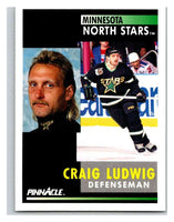 1991-92 Pinnacle #248 Craig Ludwig North Stars