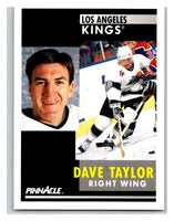 1991-92 Pinnacle #249 Dave Taylor Kings