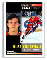 1991-92 Pinnacle #254 Russ Courtnall Canadiens