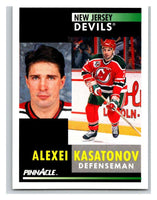 1991-92 Pinnacle #255 Alexei Kasatonov NJ Devils