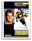 1991-92 Pinnacle #257 Bob Errey Penguins