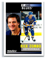 1991-92 Pinnacle #259 Rick Zombo Blues