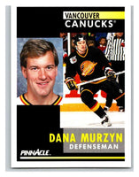 1991-92 Pinnacle #260 Dana Murzyn Canucks