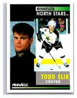 1991-92 Pinnacle #264 Todd Elik North Stars