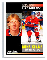 1991-92 Pinnacle #265 Mike Keane Canadiens