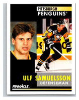 1991-92 Pinnacle #267 Ulf Samuelsson Penguins