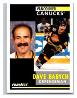 1991-92 Pinnacle #270 Dave Babych Canucks