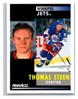 1991-92 Pinnacle #275 Thomas Steen Winn Jets
