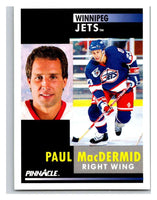 1991-92 Pinnacle #279 Paul MacDermid Winn Jets