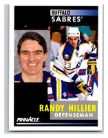 1991-92 Pinnacle #281 Randy Hillier Sabres