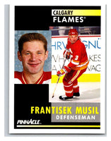 1991-92 Pinnacle #282 Frank Musil Flames