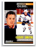 1991-92 Pinnacle #283 Geoff Smith Oilers