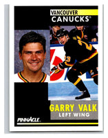 1991-92 Pinnacle #291 Garry Valk Canucks