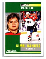 1991-92 Pinnacle #338 Dan Kordic RC Rookie Flyers
