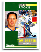 1991-92 Pinnacle #343 Dominic Roussel RC Rookie Flyers