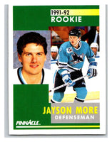 1991-92 Pinnacle #344 Jim Paek RC Rookie Penguins