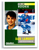 1991-92 Pinnacle #348 Jamie Baker RC Rookie Nordiques