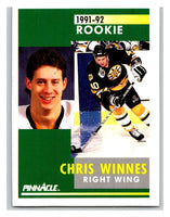 1991-92 Pinnacle #353 Luciano Borsato RC Rookie Winn Jets