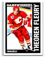 1991-92 Pinnacle #358 Theo Fleury Flames