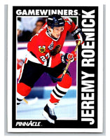 1991-92 Pinnacle #359 Jeremy Roenick Blackhawks