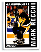 1991-92 Pinnacle #360 Mark Recchi Penguins