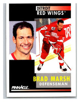 1991-92 Pinnacle #361 Brad Marsh Red Wings