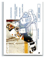 1991-92 Pinnacle #379 Andy Moog Bruins TECH
