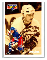 1991-92 Pinnacle #383 Steve Yzerman/Doug Weight NY Rangers