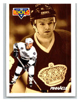 1991-92 Pinnacle #385 Marcel Dionne/Luc Robitaille Kings