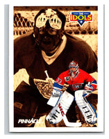 1991-92 Pinnacle #387 Rogie Vachon/Patrick Roy Canadiens