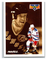 1991-92 Pinnacle #390 Tony Amonte/Mark Messier NY Rangers