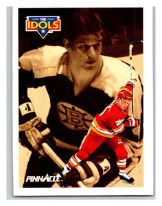 1991-92 Pinnacle #392 Gary Suter/Bobby Orr Flames