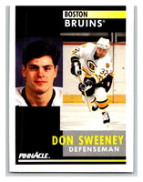 1991-92 Pinnacle #419 Don Sweeney Bruins