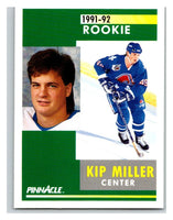 1991-92 Pinnacle #306 Kip Miller Nordiques