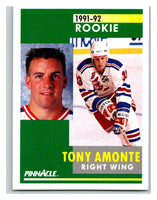 1991-92 Pinnacle #301 Tony Amonte RC Rookie NY Rangers