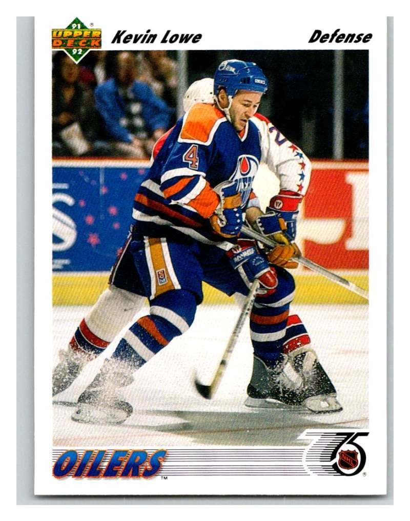1991-92 Upper Deck #186 Kevin Lowe Mint