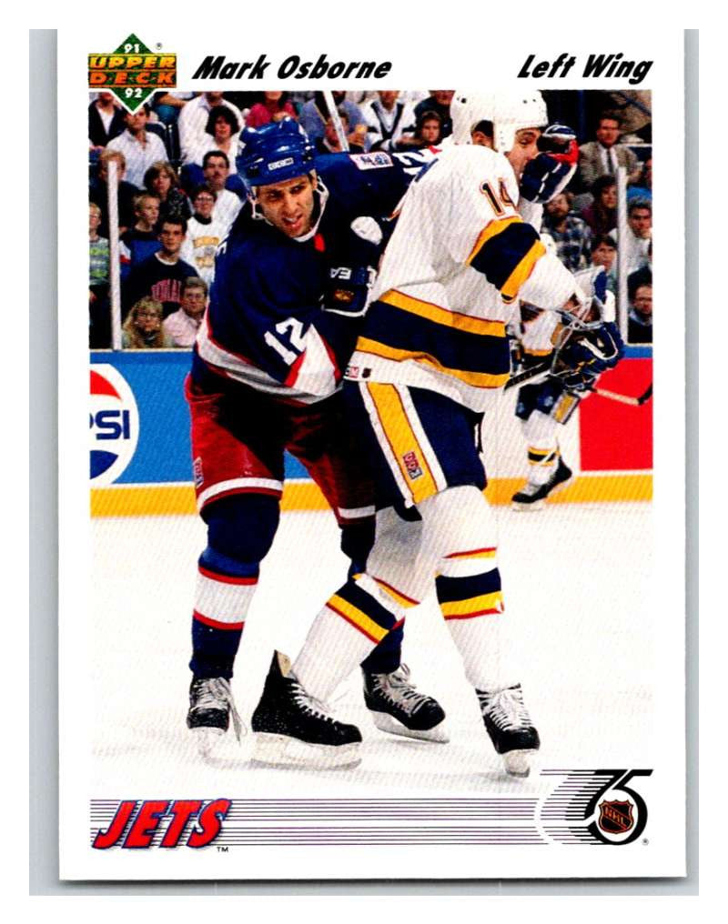 1991-92 Upper Deck #296 Mark Osborne Mint