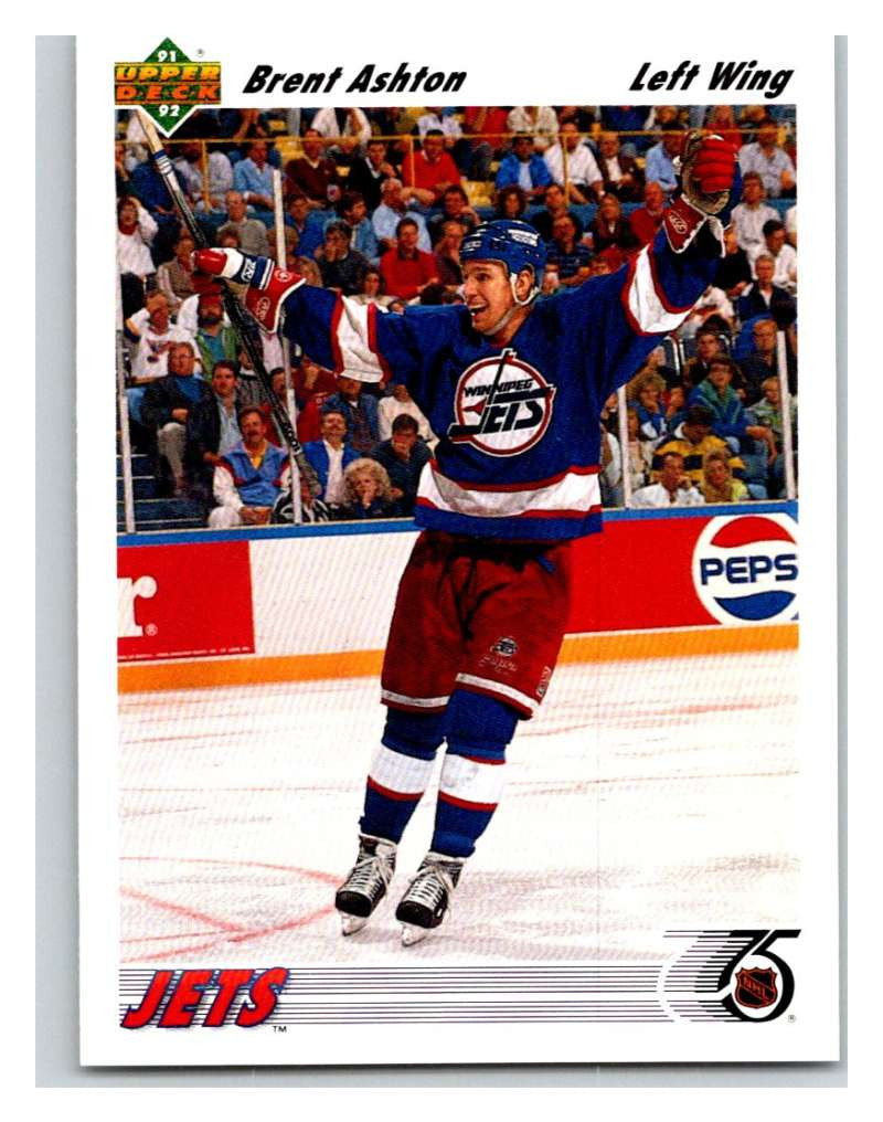 1991-92 Upper Deck #303 Brent Ashton Mint