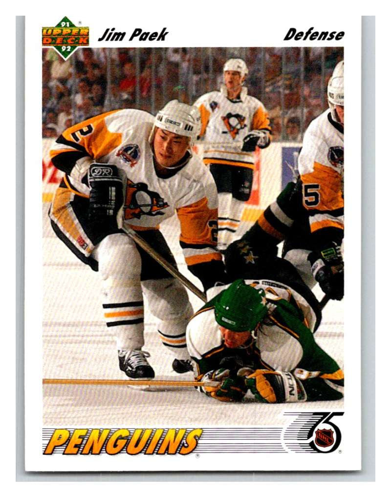 1991-92 Upper Deck #308 Jim Paek Mint RC Rookie
