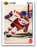 1991-92 Upper Deck #18 Jiri Slegr Mint RC Rookie