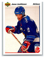 1991-92 Upper Deck #22 Janne Laukkanen Mint RC Rookie