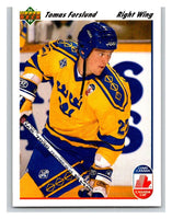 1991-92 Upper Deck #27 Tomas Forslund Mint RC Rookie