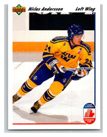 1991-92 Upper Deck #29 Niclas Andersson Mint RC Rookie