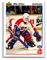 1991-92 Upper Deck #34 Mike Richter Mint
