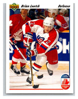 1991-92 Upper Deck #35 Brian Leetch Mint
