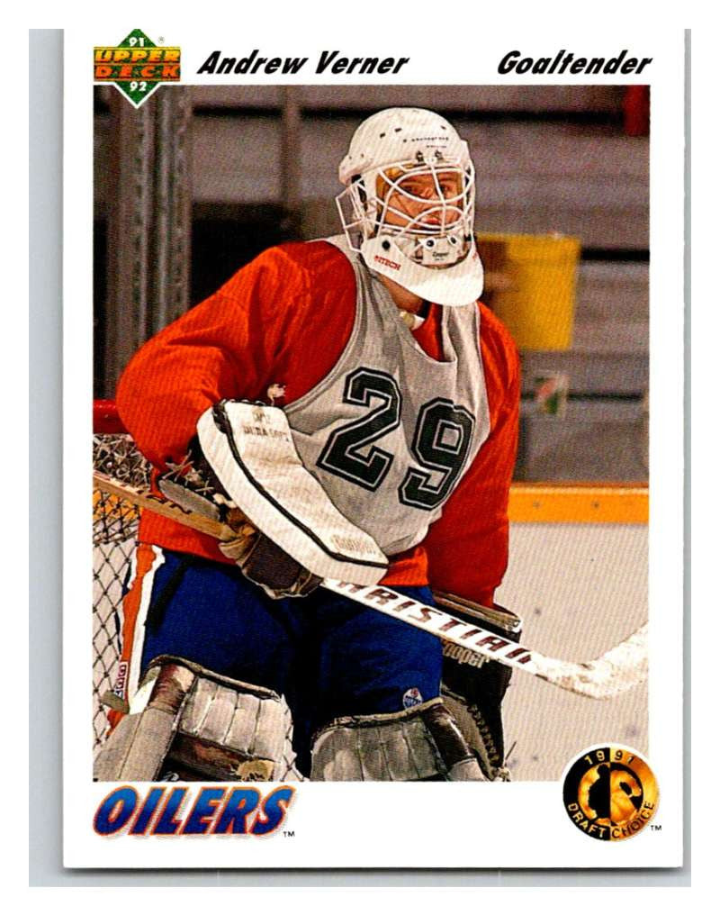 1991-92 Upper Deck #74 Andrew Verner Mint RC Rookie