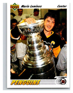 1991-92 Upper Deck #156 Mario Lemieux Mint