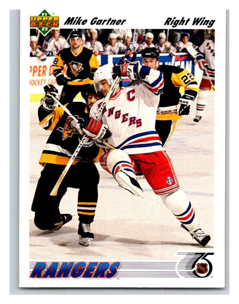 1991-92 Upper Deck #247 Mike Gartner Mint