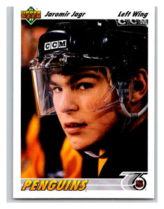 1991-92 Upper Deck #256 Jaromir Jagr Mint